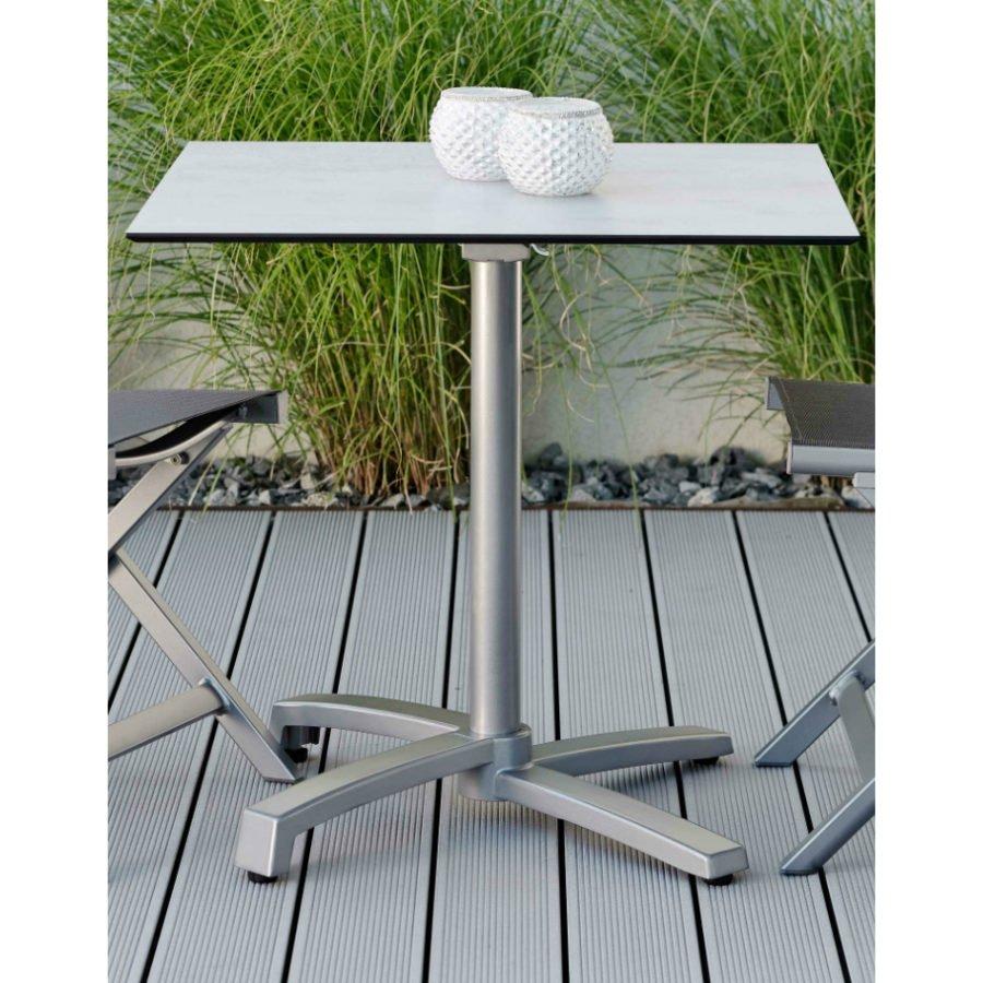 Stern Bistrotisch Aluminium Hpl Tischgestell Livorno