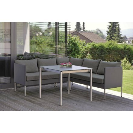 Stern Gartenmöbel-Set mit Sitz-Elementen \