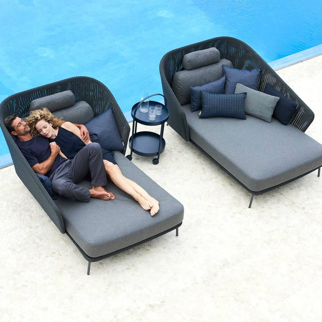 Cane-line Lounge-Set mit Daybed \