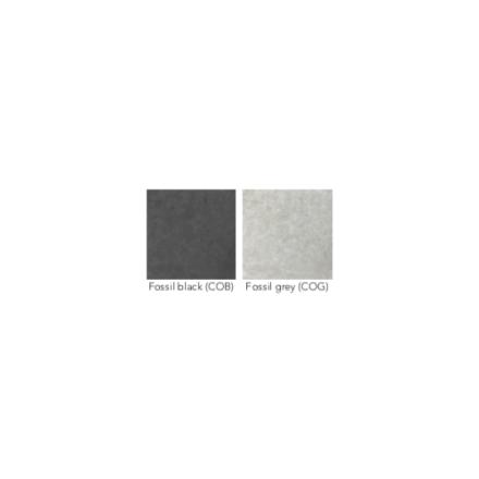 Cane-line Tischplatte Fossil Keramik schwarz und grau