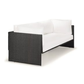 "DEDON 3er Sofa ""SLIM LINE"", Aluminiumrahmen, DEDON Faser carbon"