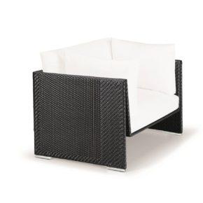 "DEDON Sessel ""SLIM LINE"", Aluminiumrahmen, DEDON Faser carbon"