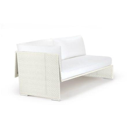 "DEDON Sofa rechts ""SLIM LINE"", Aluminiumrahmen, DEDON Faser chalk"