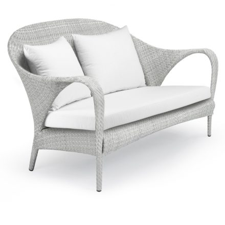 "DEDON 2er-Sofa ""TANGO"", Gestell Aluminium, Geflecht DEDON Faser basalto"