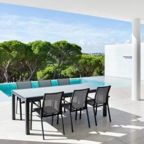 """Jati&Kebon Gartenmöbel-Set mit Stuhl """"Sevilla"""" und Gartentisch """"Livorno"""""""
