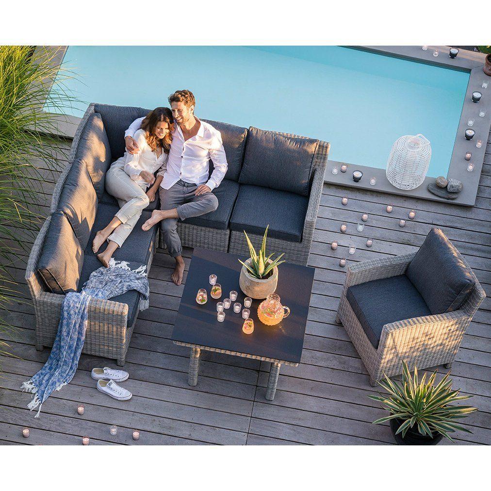 kettler palma modular casual dining set 7 teilig. Black Bedroom Furniture Sets. Home Design Ideas