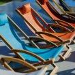 "Royal Botania Klappliege ""Beacher"", Gestell Teakholz, Sitz- und Rückenfläche Batyline"
