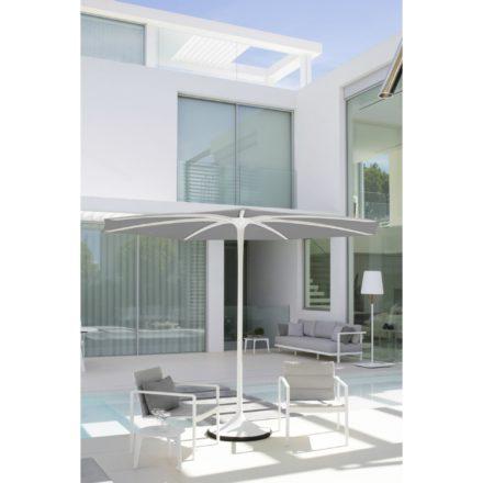 """Royal Botania Loungesessel """"Alura"""", Gestell Aluminium weiß, Sitzflächen-Bespannung Textilgewebe weiß"""