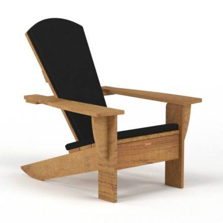 "Royal Botania ""New England"" Loungesessel mit Sitz- und Rückenkissen"