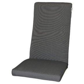"""Zebra Sitz- und Rückenkissen anthrazit, passend zu Relaxsessel """"Novus"""""""