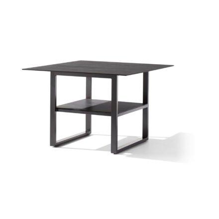 Sieger Diningtisch 105x105 cm, Alu eisengrau, Tischplatte Polytec