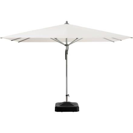 """Sonnenschirm """"Fortero®"""", quadratisch, von GLATZ, Dessin 404 - White (© by GLATZ AG, Schweiz)"""