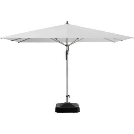 """Sonnenschirm """"Fortero®"""", quadratisch, von GLATZ, Dessin 510 - White (© by GLATZ AG, Schweiz)"""