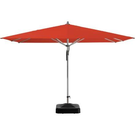 """Sonnenschirm """"Fortero®"""", quadratisch, von GLATZ, Dessin 516 - Fire Red (© by GLATZ AG, Schweiz)"""