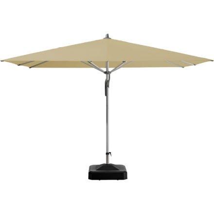 """Sonnenschirm """"Fortero®"""", quadratisch, von GLATZ, Dessin 526 - Bamboo (© by GLATZ AG, Schweiz)"""