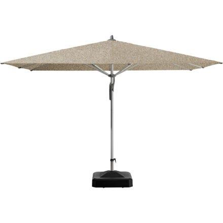 """Sonnenschirm """"Fortero®"""", quadratisch, von GLATZ, Dessin 650 - Camel Melange (© by GLATZ AG, Schweiz)"""