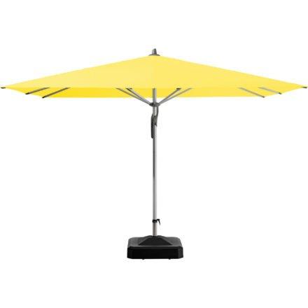"""Sonnenschirm """"Fortero®"""", quadratisch, von GLATZ, Dessin 680 - Pineapple (© by GLATZ AG, Schweiz)"""