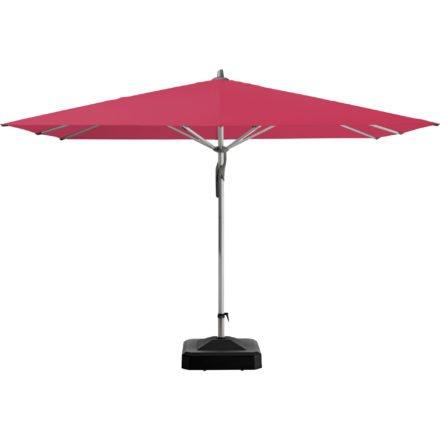"""Sonnenschirm """"Fortero®"""", quadratisch, von GLATZ, Dessin 681 - Pink (© by GLATZ AG, Schweiz)"""