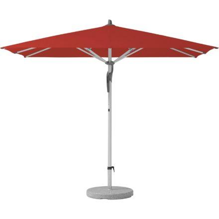 """Sonnenschirm """"Fortero®"""", rechteckig, von GLATZ, Dessin 403 - Carmine (© by GLATZ AG, Schweiz)"""