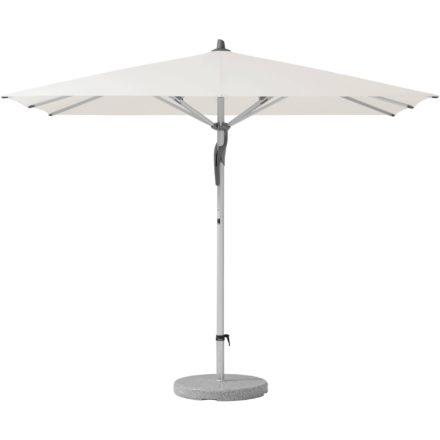 """Sonnenschirm """"Fortero®"""", rechteckig, von GLATZ, Dessin 404 - White (© by GLATZ AG, Schweiz)"""