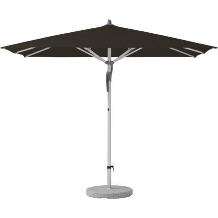 """Sonnenschirm """"Fortero®"""", rechteckig, von GLATZ, Dessin 408 - Black (© by GLATZ AG, Schweiz)"""