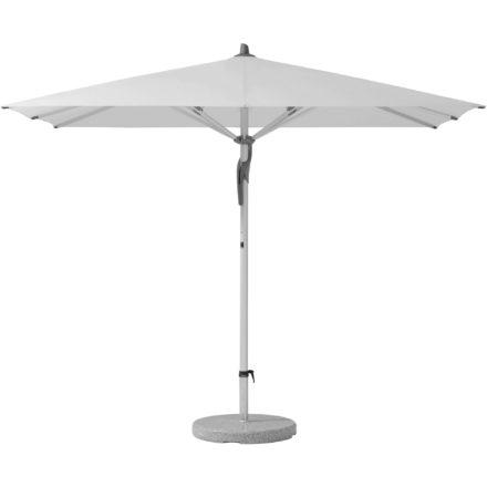 """Sonnenschirm """"Fortero®"""", rechteckig, von GLATZ, Dessin 510 - White (© by GLATZ AG, Schweiz)"""