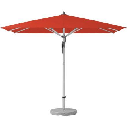 """Sonnenschirm """"Fortero®"""", rechteckig, von GLATZ, Dessin 516 - Fire Red (© by GLATZ AG, Schweiz)"""