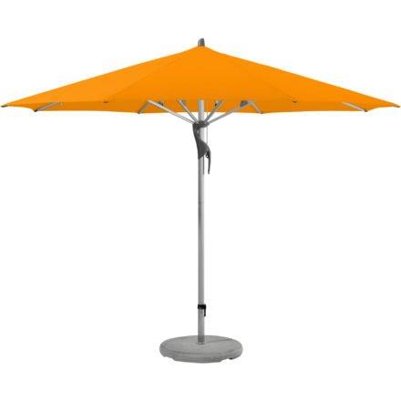 """Sonnenschirm """"Fortero®"""", rund, von GLATZ, Dessin 512 - Mandarin (© by GLATZ AG, Schweiz)"""