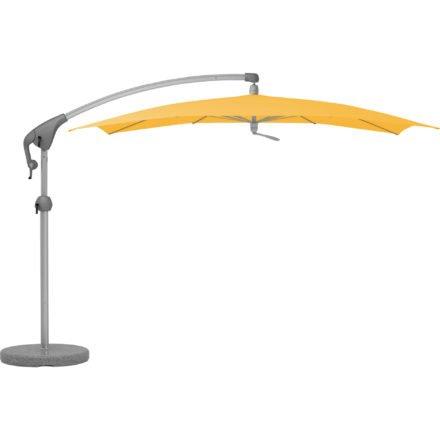 """Sonnenschirm """"Pendalex®P+"""", rechteckig, ohne Volant, Gestell natureloxiert, von GLATZ, Dessin 640 - Sun (© by GLATZ AG, Schweiz)"""