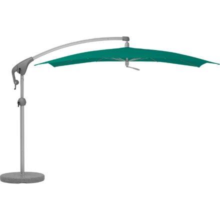 """Sonnenschirm """"Pendalex®P+"""", rechteckig, ohne Volant, Gestell natureloxiert, von GLATZ, Dessin 648 - Amazonas (© by GLATZ AG, Schweiz)"""