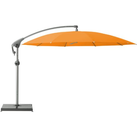 """Sonnenschirm """"Pendalex®P+"""", rund, ohne Volant, Gestell natureloxiert, von GLATZ, Dessin 661 - Helloween (© by GLATZ AG, Schweiz)"""