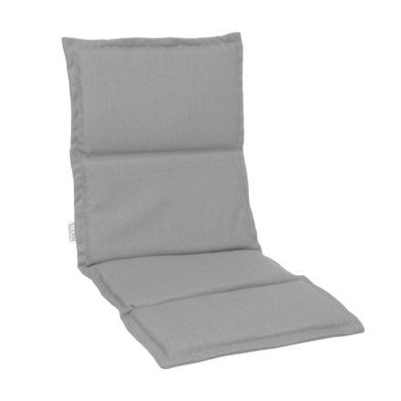 Stern Auflage zu Stapelsessel mit hoher Rückenlehne, 100% Polyacryl, graubraun