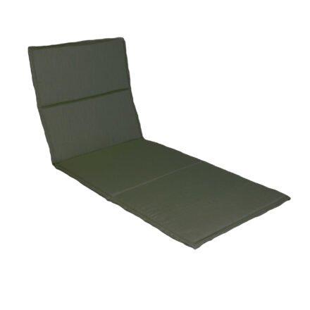Stern Liegenauflage 200x74x3 cm, Dessin dunkelgrün