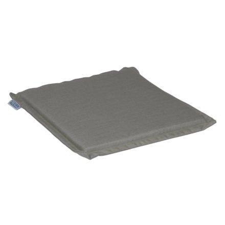Stern Universal-Sitzkissen, 44 x 44 cm, 100% Polyacryl, graubraun