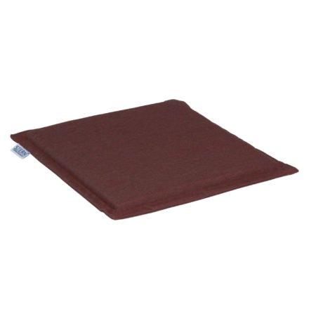 Stern Universal-Sitzkissen, 44 x 44 cm, 100% Polyacryl, rot