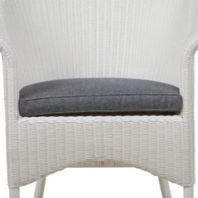 Zebra Sitzkissen Grey für Gartenstuhl Hastings