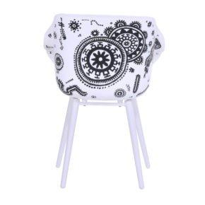 "Hartman ""Sophie Tattoo"" Armchair, Gestell Aluminium royal white, Sitzschale Kunststoff"