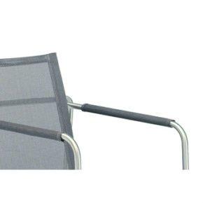 Fischer Möbel, Gewebearmlehnen für Sessel Taku, Textilgewebe