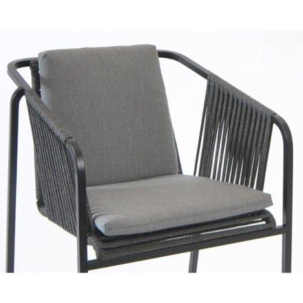 Fischer Möbel, Sitz- und Rückenauflage für Sessel Suite, Farbe: granite