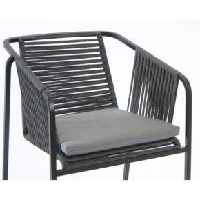 Fischer Möbel, Sitzkissen für Sessel Suite, Farbe: granite