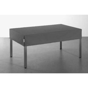 Solpuri Tischplatten-Abdeckung mit 20 cm Abhang, Farbe: schiefer