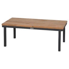 """Zebra """"Hudson"""" Loungetisch mit Teakplatte, Länge 94,5 cm"""