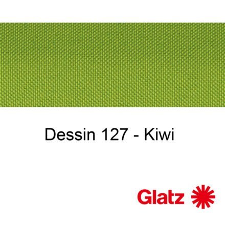 GLATZ Stoffmuster Dessin 127 Kiwi
