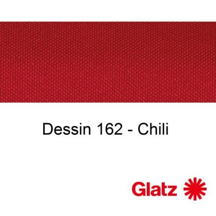 GLATZ Stoffmuster Dessin 162 Chili