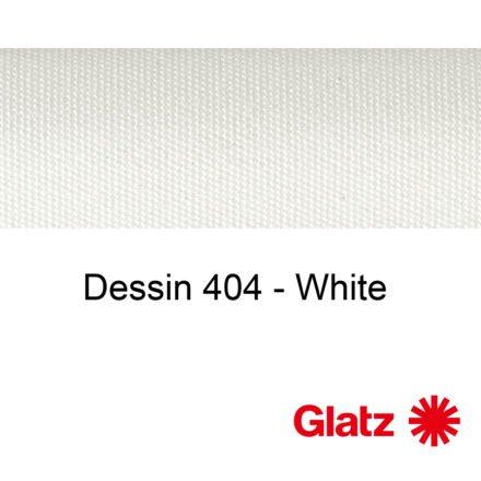 GLATZ Stoffmuster Dessin 404 White