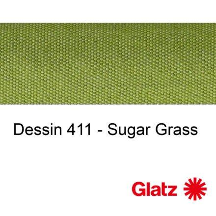 GLATZ Stoffmuster Dessin 411 Sugar Grass