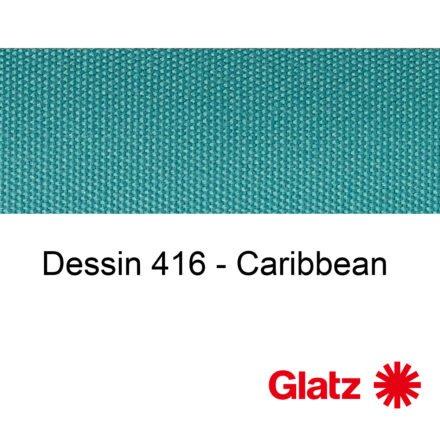 GLATZ Stoffmuster Dessin 416 Caribbean