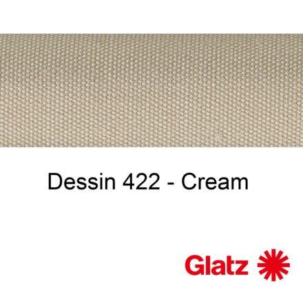 GLATZ Stoffmuster Dessin 422 Cream