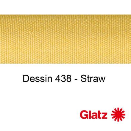 GLATZ Stoffmuster Dessin 438 Straw