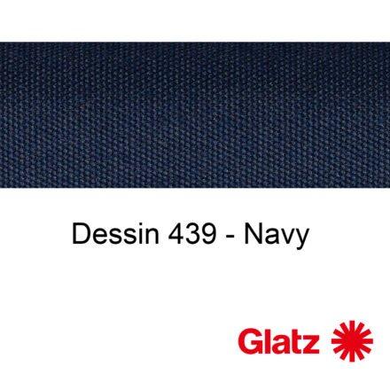 GLATZ Stoffmuster Dessin 439 Navy